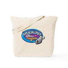 Duncan Penguin Tote Bag