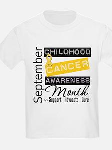 ChildhoodCancerAwarenessMonth T-Shirt