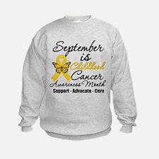 SeptemberChildhoodCancerMonth Sweatshirt
