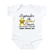 SeptemberChildhoodCancerMonth Infant Bodysuit