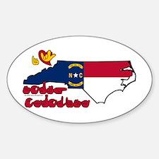 ILY North Carolina Decal