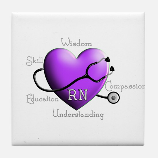 Nurse Gifts XX Tile Coaster