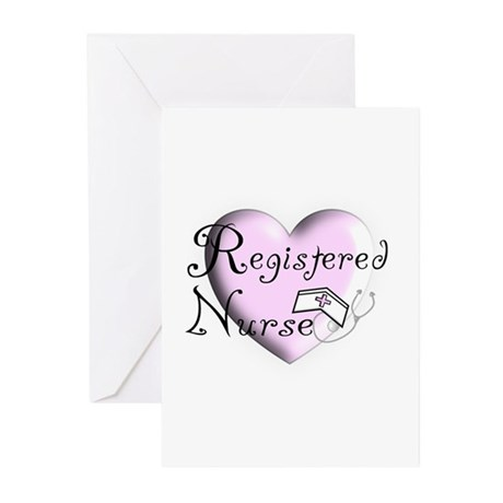 Nurse Gifts XX Greeting Cards (Pk of 10)