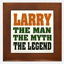 LARRY - The Legend Framed Tile