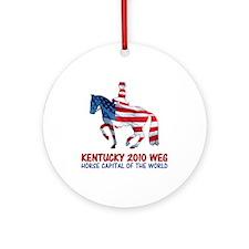 World Equestrian Games Dressage Ornament (Round)