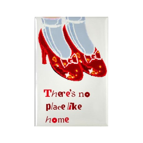 Red Ruby Slippers Rectangle Magnet