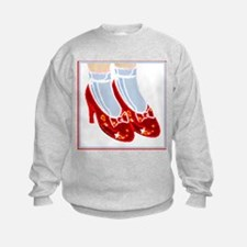 Red Ruby Slippers Sweatshirt