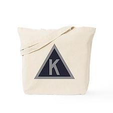 Triangle K Tote Bag