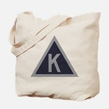 Triangle K Tote Bag