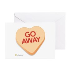 Go Away Greeting Cards (Pk of 10)