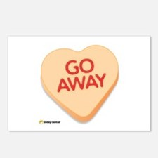 Go Away Postcards (Package of 8)
