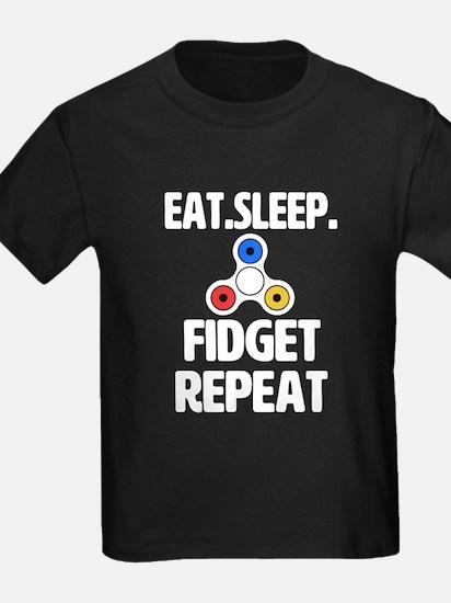 Eat Sleep Fidget Repeat T-Shirt