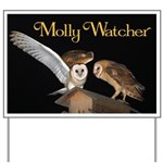 Molly and McGee Yard Sign