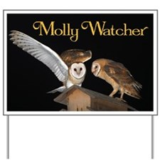 Molly and McGee Yard Sign