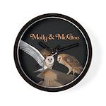 Molly and McGee Wall Clock