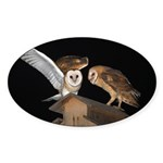 Molly and McGee Sticker (Oval 50 pk)