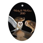 Molly and McGee Ornament (Oval)