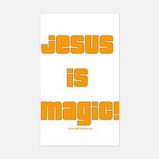 Jesus is Magic! Rectangle Decal
