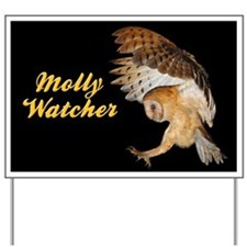 Molly Flying In Yard Sign