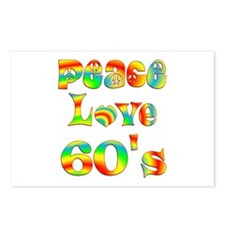 Retro 60's Postcards (Package of 8)