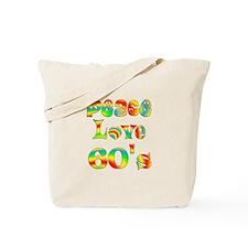 Retro 60's Tote Bag