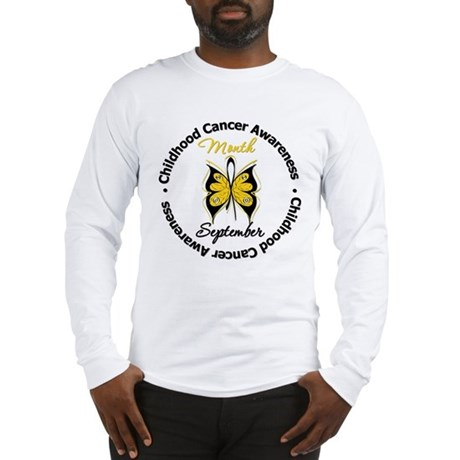 AwarenessMonthChildCancer Long Sleeve T-Shirt