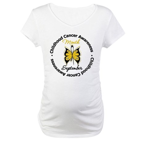 AwarenessMonthChildCancer Maternity T-Shirt