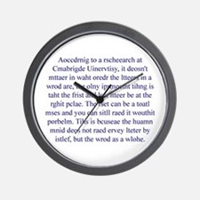 """""""Chaotic Surprise"""" Wall Clock"""