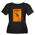 Scared / crow - Women's Plus Size Scoop Neck Dark
