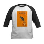 Scared / crow - Kids Baseball Jersey