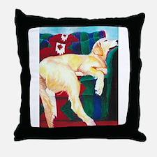 Sleeping Sonny Throw Pillow