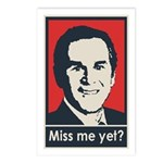 Bush - Miss Me Yet Postcards (Package of 8)