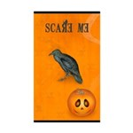 Scared / crow - Sticker (Rectangle 10 pk)