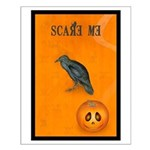 Scared / crow - Small Poster