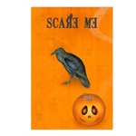 Scared / crow - Postcards (Package of 8)