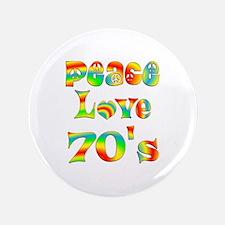 """Retro 70's 3.5"""" Button"""