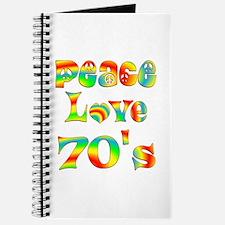 Retro 70's Journal