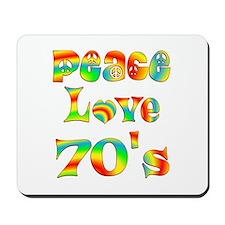 Retro 70's Mousepad