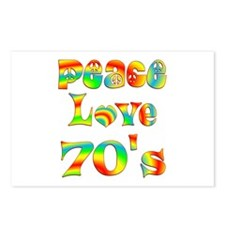 Retro 70's Postcards (Package of 8)