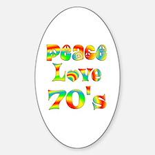 Retro 70's Decal