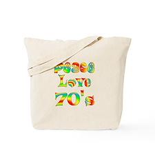 Retro 70's Tote Bag