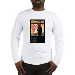 Enlist Poster Art (Front) Long Sleeve T-Shirt