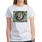 Nesting Pigeons Decorative Women's T-Shirt