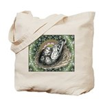 Nesting Pigeons Decorative Tote Bag