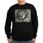 Nesting Pigeons Decorative Sweatshirt (dark)