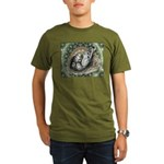 Nesting Pigeons Decorative Organic Men's T-Shirt (