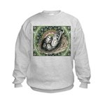 Nesting Pigeons Decorative Kids Sweatshirt