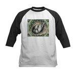 Nesting Pigeons Decorative Kids Baseball Jersey
