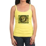 Nesting Pigeons Decorative Jr. Spaghetti Tank