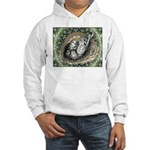 Nesting Pigeons Decorative Hooded Sweatshirt